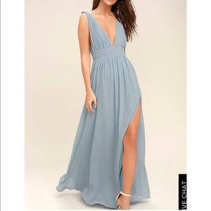 Heavenly Hues Lulus gown